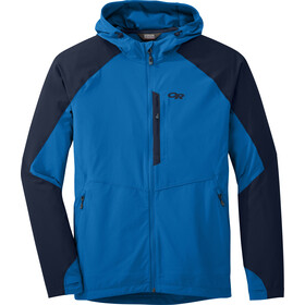 Outdoor Research Ferrosi Hooded Jacket Herr glacier/night